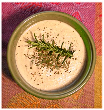 Creamy Sunflower Seed Herb Dressing